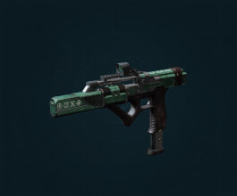 Ritual Legendary Submachine Gun